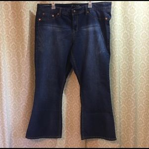 torrid Jeans - Torrid Source of Wisdom slim boot cut jeans 22r